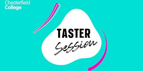 Taster - Hairdressing tickets
