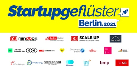 Startupgeflüster Berlin 2021 Tickets