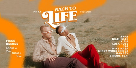 """FHAT Presents """"Back To Life"""" Tickets"""