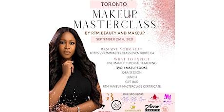 RTM Makeup Masterclass tickets