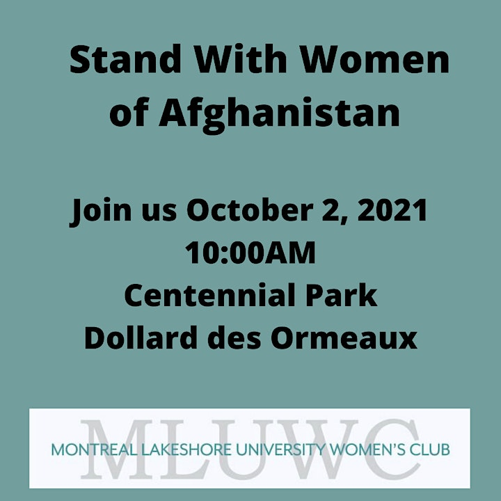 MLUWC March for Women of Afghanistan image