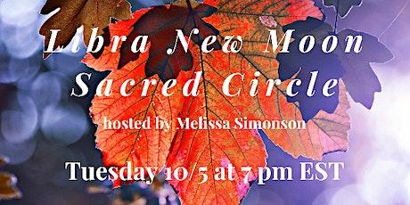 Libra New Moon Sacred Circle tickets