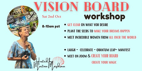 VISION BOARD WORKSHOP tickets