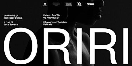 Visita guidata alla mostra Oriri di Francesco Bellina biglietti