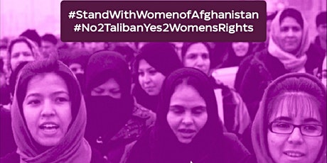 MLUWC March for Women of Afghanistan billets