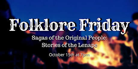 Folklore Friday: Sagas of the Original People tickets