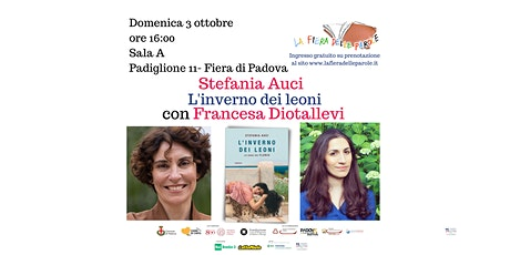 """Stefania Auci """"L'inverno dei Leoni"""" con Francesca Diotallevi biglietti"""