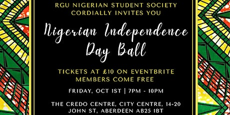 RGU NSS Independence Day Ball tickets