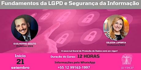 Fundamentos da LGPD e Segurança da Informação ingressos