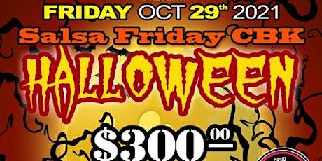 Salsa Friday Halloween Party @ Michella tickets