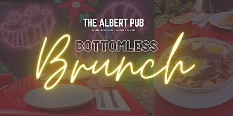 Bottomless Brunch @ The Albert tickets