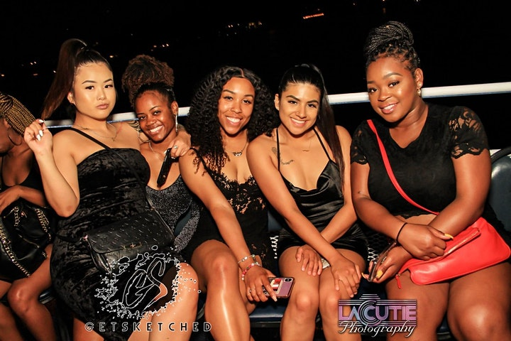 All Black Attire Yacht Party image