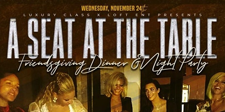A Seat At The Table tickets