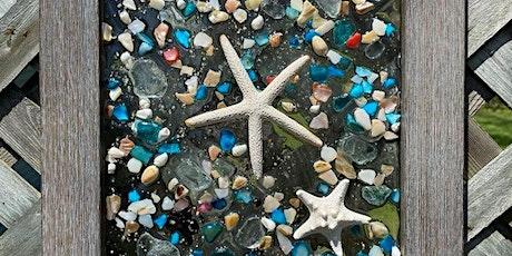 Resin Beach  Glass Art with Robin tickets