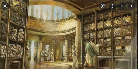 Library that are being destroyed (Ashurbanapal, Alexandria) tickets