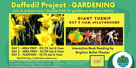 Daffodil Project in Asser Levy/ Seaside Park tickets