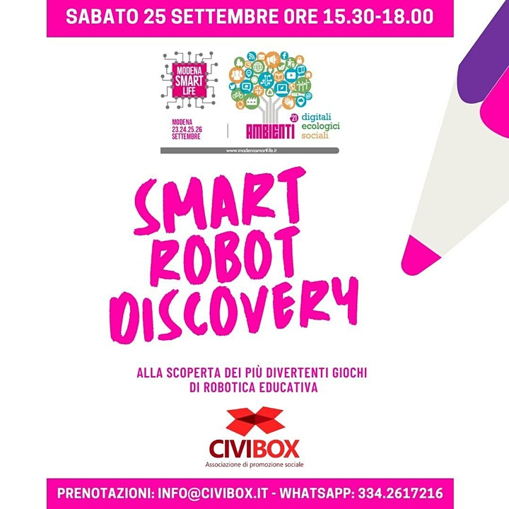 Immagine Smart Robot Discovery