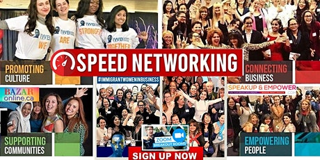 Speed Networking to Generate Leads for Business and Career, Breakout Rooms. tickets