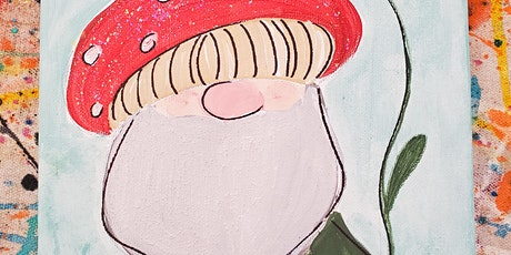 10/15 $22 Woodland Gnome @ Paint Like ME Studio tickets