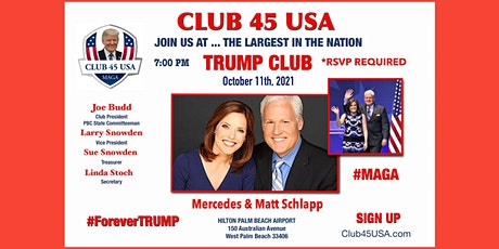 CLUB 45 USA OCTOBER 11th MEETING tickets