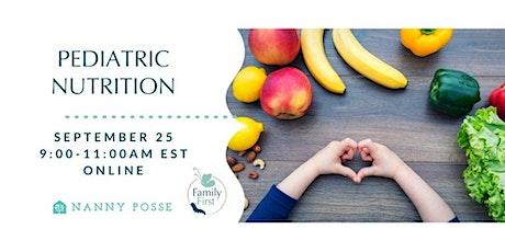 Pediatric Nutrition tickets