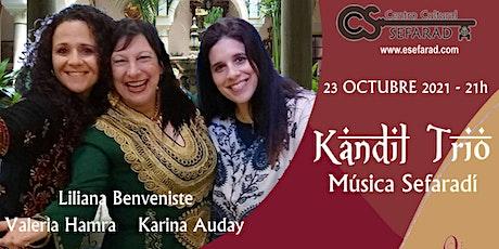 Concierto Kandil Trio tickets