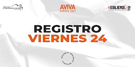 Aviva Europa 2021   Viernes 24 de Septiembre 2021 tickets