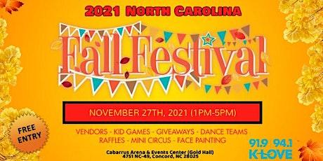 2021 North Carolina Fall Festival tickets