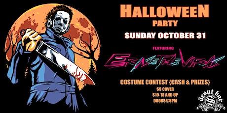 Halloween party w/ Erase The Virus tickets