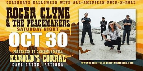 Harold's Halloween Bash with Roger Clyne & The Peacemakers tickets