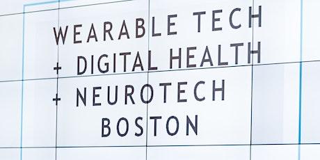 Wearable Tech + Digital Health + Neurotech Boston 2022 tickets