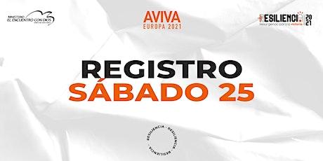 Aviva Europa 2021 | Sábado 25 de Septiembre 2021 tickets
