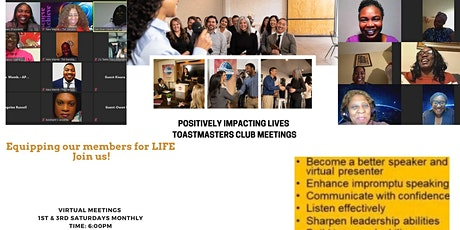 PIL Toastmasters Meeting tickets