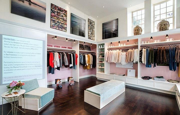 Sustainable Fashion Pop-Up At The Bar Code Showroom In Presidio Heights image