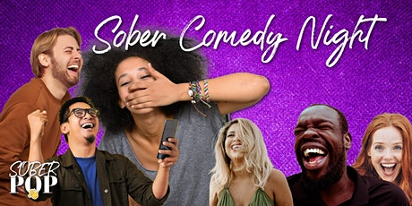 SOBER POP (Culture) Club on Clubhouse App: SOBER COMEDY NIGHT tickets
