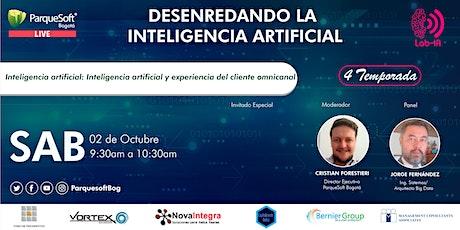 Inteligencia artificial: Inteligencia artificial y experiencia del cliente entradas