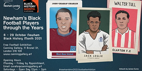 Celebrating Newham's Black Footballers - Newham Black History Month 2021 tickets