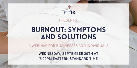 Burnout: Symptoms and Solutions tickets