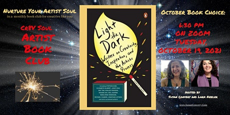 Light the Dark -Writers on Creativity and Inspiration - Cr8V Soul Book Club tickets