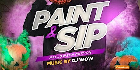 Paint & Sip: Halloween Edition tickets