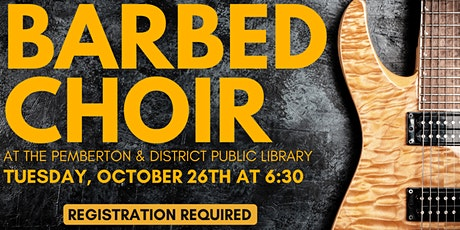 Barbed Choir tickets