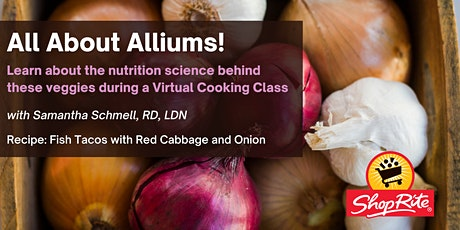 All About Alliums: a Virtual Cooking Class! tickets