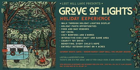 Grove Of Lights Holiday Experience tickets