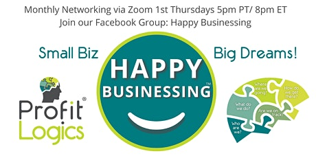 Happy Businessing™ NETWORKING Parties (Monthly) tickets