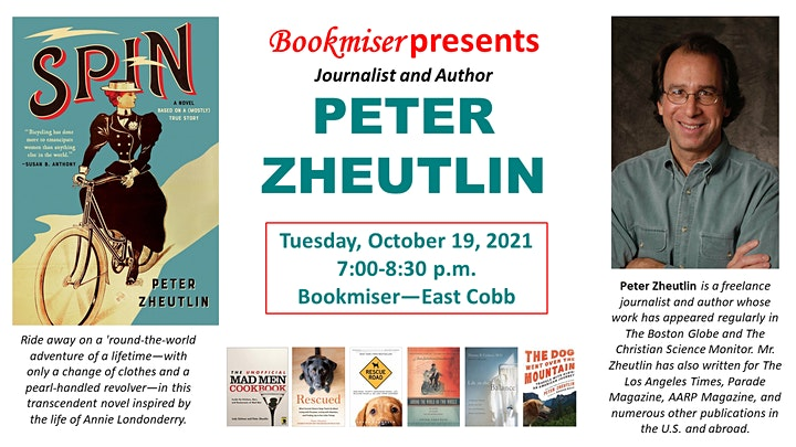 Journalist and Author PETER ZHEUTLIN Discusses His New Book SPIN image