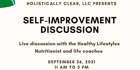 Self-Improvement Discussion tickets