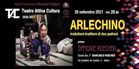 """""""ArleChino: traduttore e traditore di due padroni"""" biglietti"""