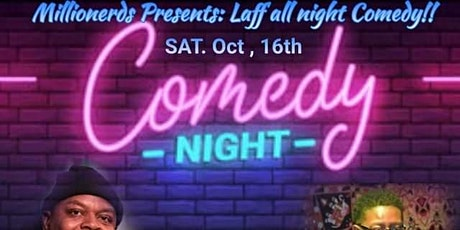 Millionerds presents: Laff All Night Comedy tickets