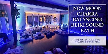 New Moon Chakra Balancing Reiki Sound Bath (South OC) tickets