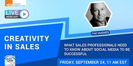CREATIVITY IN SALES: What Sales Pros Need to Know about Social Media tickets